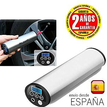 Amazon.es: androgeek Mini Compresor de Aire portátil inflador Eléctrico Bomba Eléctrica Portátil 150 PSI Recargable con Pantalla LCD