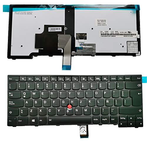 Teclado Español para Thinkpad T431s Type 20aa 20ac 00HW840 0