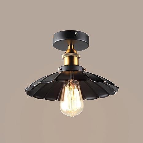 Lámpara de techo de diseño industrial retro Lámpara de techo ...