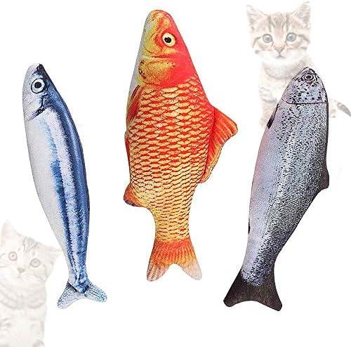 猫のおもちゃ XiLeY 魚おもちゃ またたびトイ ぬいぐるみ お魚 キャットニップ ミント 噛むおもちゃ 運動不足解消 ペットおもちゃ さんま ねこ けりぐるみ