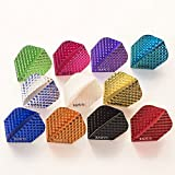 10 x Sets Raw75 Dimplex Mixed Colours Dart Flights Standard Shape