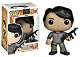 Prison Glenn Rhee: Funko POP! x Walking Dead Vinyl Figure + FREE Mystery Item Bundle