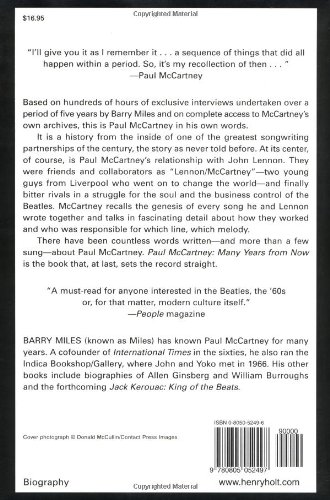 Paul McCartney: Many Years from Now: Amazon co uk: Barry