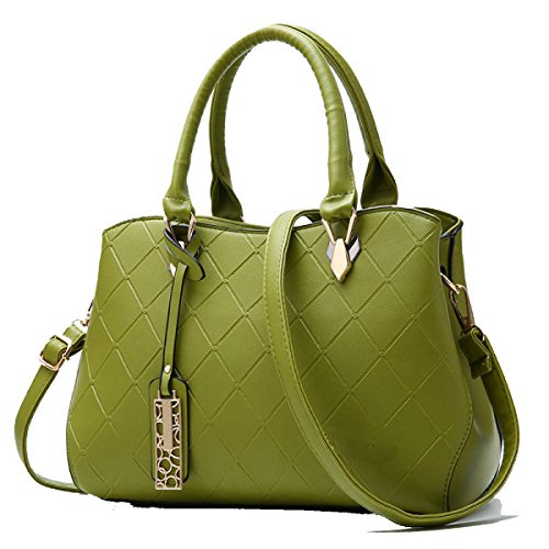 Skin Handbag Messenger Multifunctional PU Green Women Shoulder Large Bag Capacity ZHI WU Bag ​​Soft Handbag Wild atPRqz