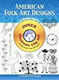 img - for American Folk Art Designs CD-ROM and Book (Dover Electronic Clip Art) book / textbook / text book