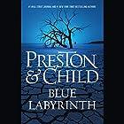 Blue Labyrinth Audiobook by Douglas Preston, Lincoln Child Narrated by Rene Auberjonois
