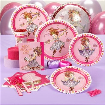 Amazon.com: Fancy Nancy estándar Set de fiesta para 16 ...