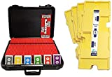 36 Imperial-Plus Duplicate Boards-Yellow, 36 Decks ACBL Cards & Carrying Case