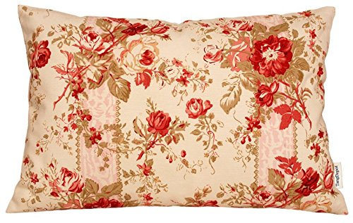 TangDepot174; 100% Cotton Floral/Flower Printcloth Decorative Throw Pillow Covers/Handmade Pillow Shams - Many Colors, Sizes Avaliable - (12