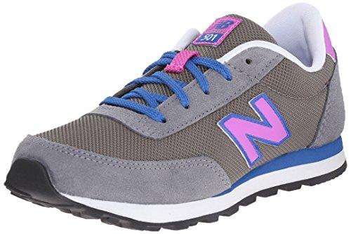 New Balance Unisex-Kinder Kl501v1 Low-Top Mehrfarbig (Brown/Blue/Pink)