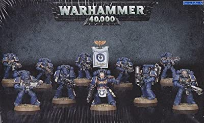 Warhammer 40,000 (40K) Space Marine Tactical Squad 2013 release by Games Workshop by Games Workshop