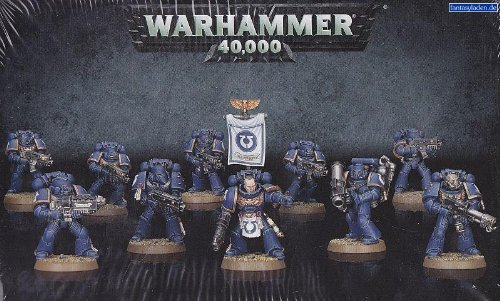 mmer 40,000 (40K) Space Marine Tactical Squad 2013 Release ()