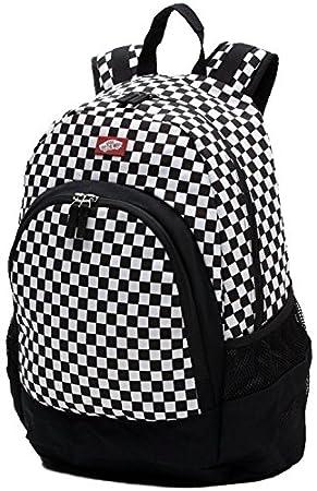 8825217b4f Van Doren Backpack - Black White Checkerboard  Amazon.co.uk  Sports ...