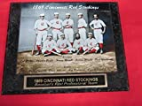1869 Cincinnati Red Stockings Collector Plaque w/8x10 COLORIZED Photo! FIRST EVER PROFESSIONAL TEAM!!