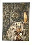 """BRIAN FROUD Limited Edition Print """"WENGWA OF THE"""
