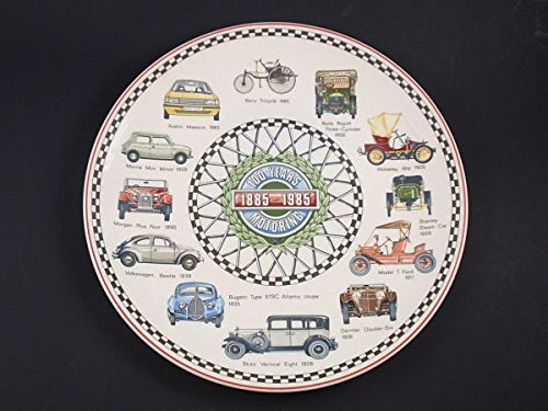 Wedgwood 100 years of motoring collectors' plate