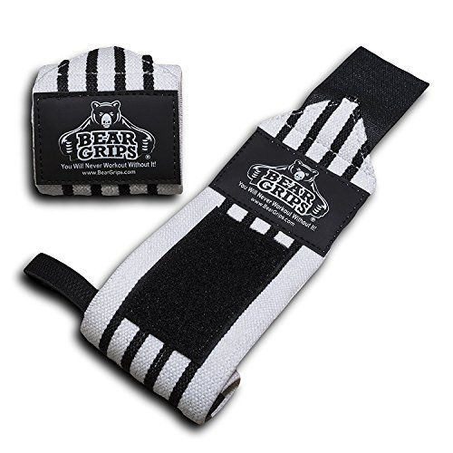 Bear Grips wrist wraps extra strength workouts product image