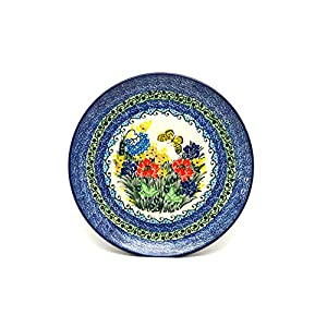 Polish Pottery Plate – 10″ Dinner – Unikat Signature – U4592