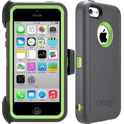 competitive price bba51 87c7f Amazon.com: OtterBox Defender Apple iPhone 5C Case & iPhone 5C Cable ...