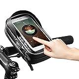 Docooler Rockbros Bike Phone Bag Top Tube Bag Cycling Front Frame Bag Phone Holder Touch Screen Bike Phone Pouch