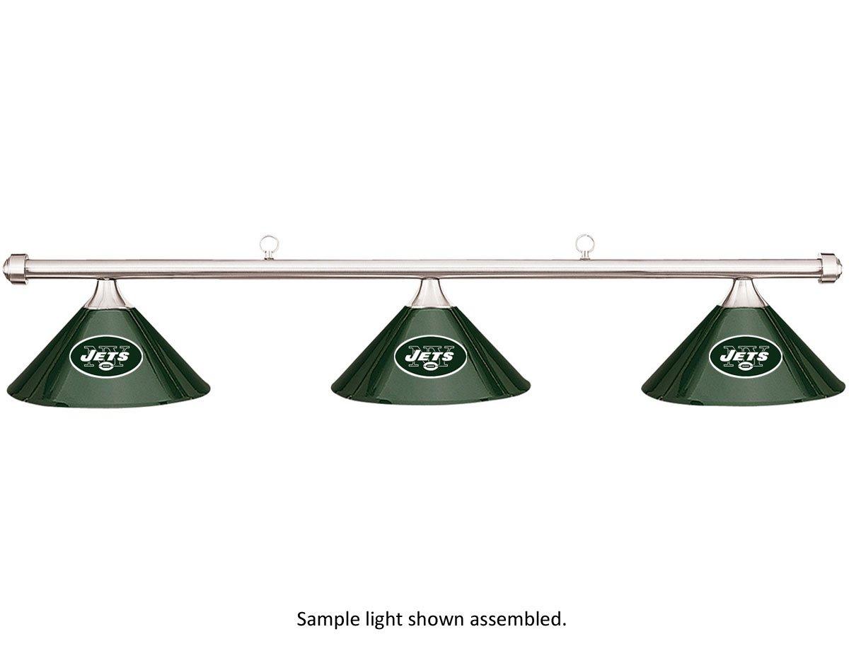 NFLニューヨークJetsグリーンメタルシェード&クロムバービリヤードプールテーブルライト B01HQR80LU B01HQR80LU, イシカワシ:ad623652 --- gamenavi.club