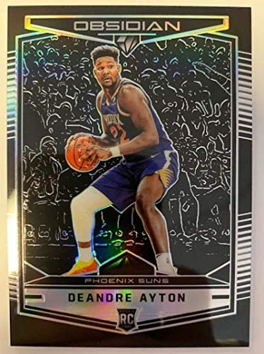 2018-19 Chronicles Obsidian Preview Basketball #574 Deandre Ayton Phoenix Suns Official NBA Trading Card From Panini America Rookie Card RC
