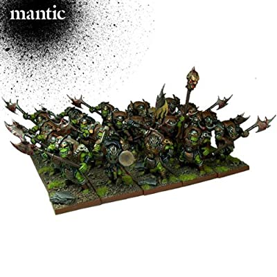 Mantic Games MGKWO22-1 Regiments Play Set, Multi-Colour: Toys & Games