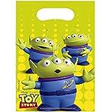 Disney Toy Story - Birthday Party Tableware - Plastic Loot Bags - 6 per pack