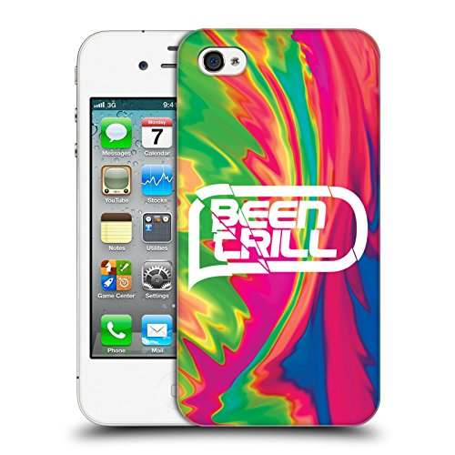 Official Been Trill Pink Tie Dye Hard Back Case for Apple iPhone 4 / 4S