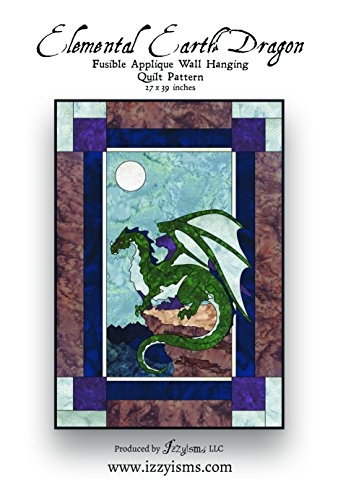 Quilt Pattern Elemental Earth Dragon 27