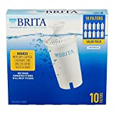 Brita Pitcher Replacement, 10 Filters