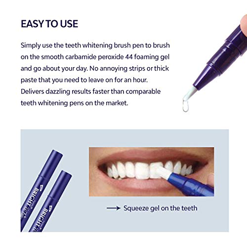 Amazon Com Vtrem Teeth Whitening Pen 2 Pack Safe 35 Carbamide