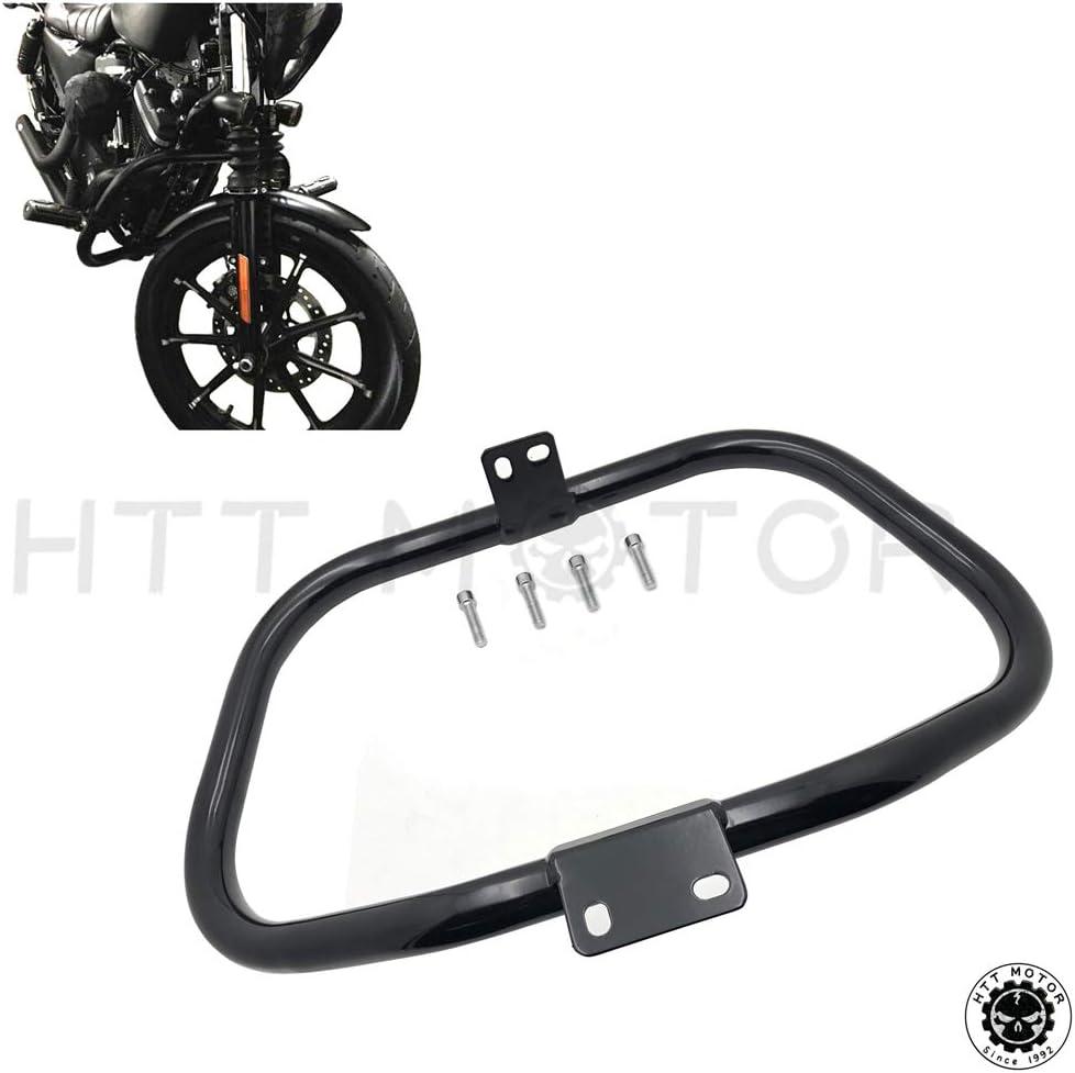 Chrome Crankcase Breather Bracket Kit Harley Sportster Custom Iron 48 XL 94-18
