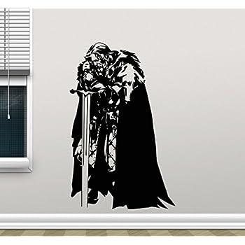 www.19zzz.com/_Amazon.com: Eddard Stark Wall Decal Ned Stark Game Of Thrones Vinyl Sticker Fantasy ...
