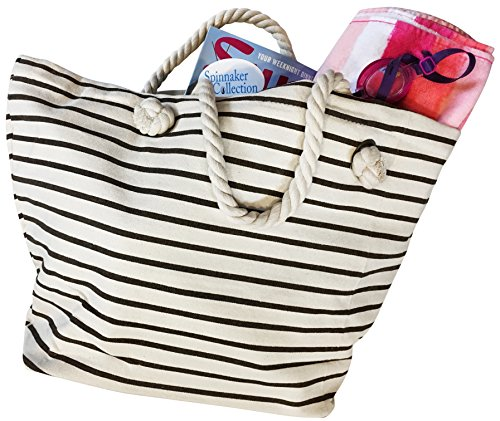 canvas-beach-bag-with-chocolate-brown-stripes-zipper-top-and-liner-spinnaker-collection