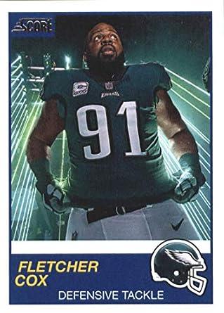 quality design e44a9 6808e Amazon.com: 2019 Score #190 Fletcher Cox NM-MT+ Philadelphia ...