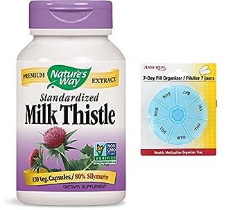 Forma cardo de la naturaleza estandarizado, 175 mg, 120 Vcaps con gratis 7 días