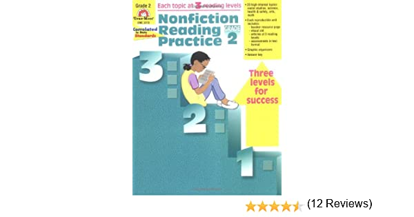 Nonfiction Reading Practice, Grade 2: Evan Moor: 9781557999412 ...