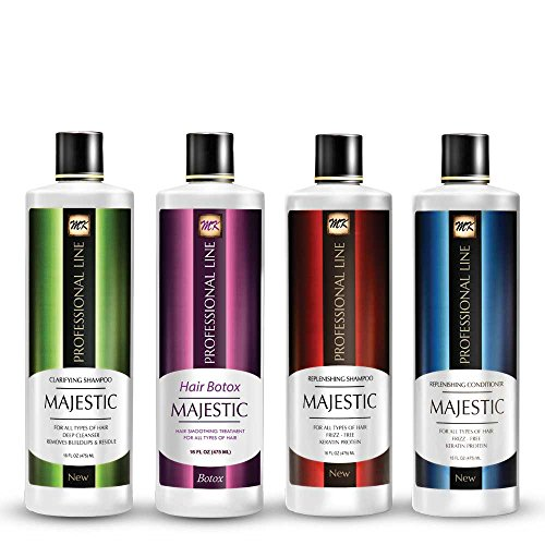 Majestic Hair Botox 475ml (16oz) - Formaldehyde Free - Complete KIT by MAJESTIC KERATIN