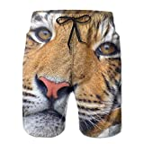 confirm vt Tiger Athletic Men's Quickly Drying Board Shorts Custom Printed Swim Trunk