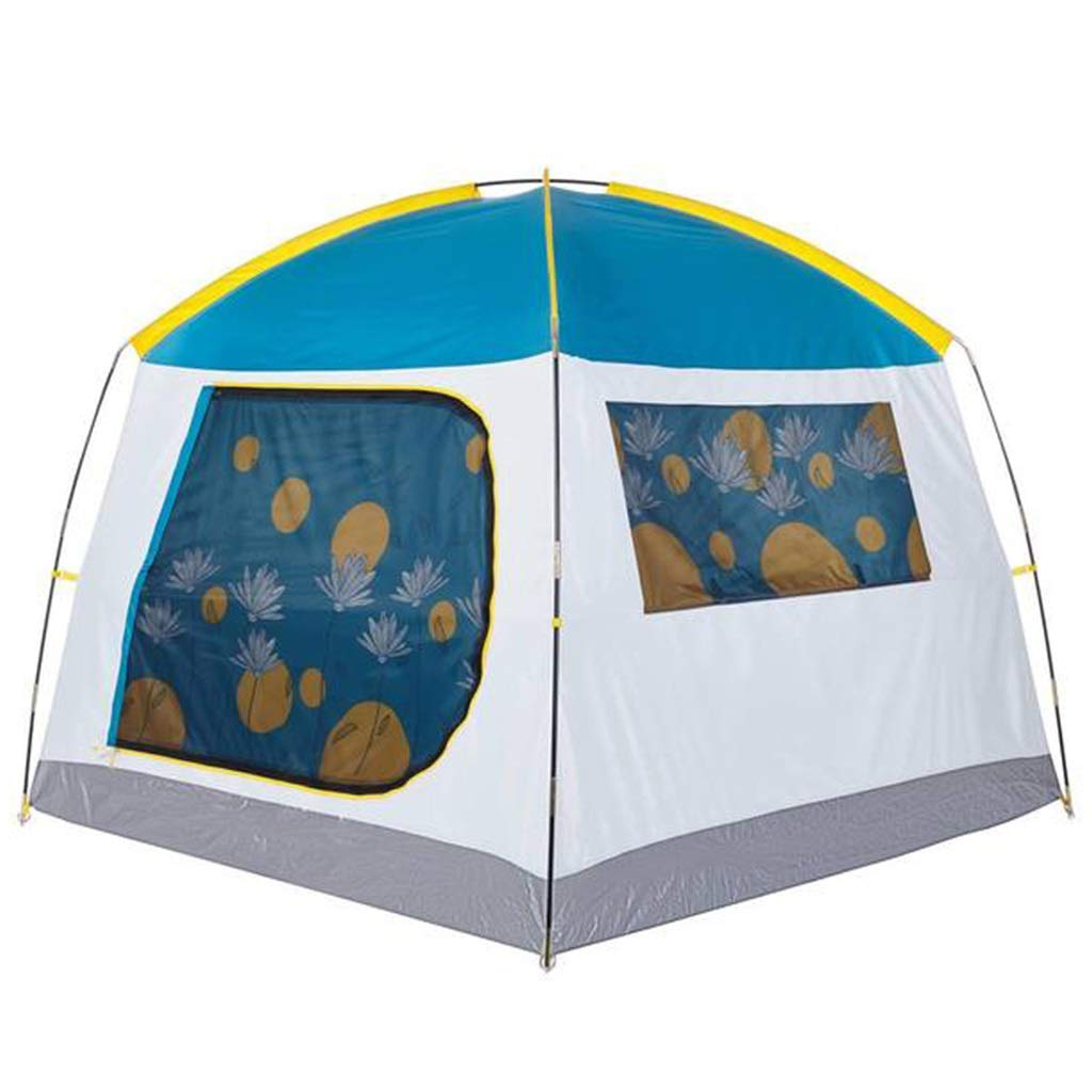 YaNanHome Bequemes Zelt des Zeltes im Freien Starke regendichte Sonnencreme 2-3 Leute, die Zelt Zelten (Farbe : Blau, Größe : 190  190  155cm)