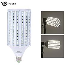 Photo Studio Photography 135W LED Corn Lamp Light Bulb 216 Bead 5500K E27 Photographic Lighting 360 all around lightening