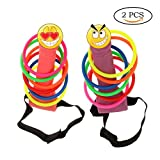 Neele Bachelorette Party Favor Ring Toss Hoopla Games Set Girls Night Out Hen Party Games (2pcs)
