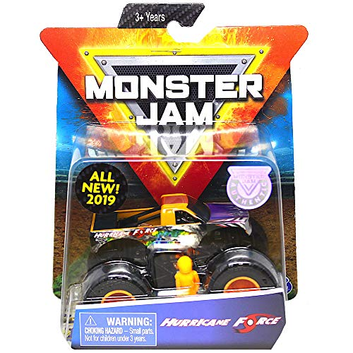 Hurricane Force Monster Jam with Figure & Poster