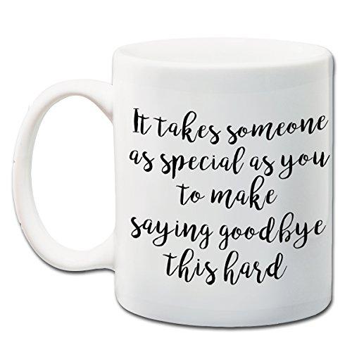Goodbye Mug - Saying Goodbye Gift - Moving Away Gift - Going Away Present - 11 oz Coffee Mug (Best Moving Away Gifts)