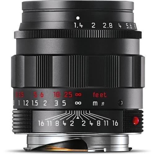 Leica 50Mm F 1 4 Summilux M Aspherical  Manual Focus Lens For M System   Black Chrome   U S A  Warranty