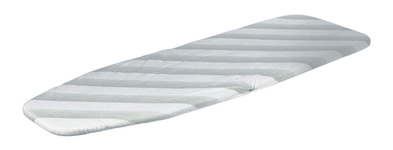 Gedotec B/ügeltuch-Bezug f/ür B/ügelbrett Ironfix extra stark 1005 x 350 x 2 mm Dampfb/ügel-Geeignet MADE IN GERMANY Bezug: grau Streifen 1 St/ück