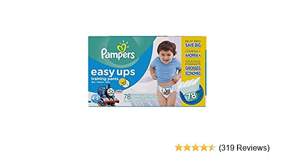 5067b8344c3 Amazon.com  Pampers Easy Ups Training Pants Pull On Disposable Diapers for  Boys  Health   Personal Care