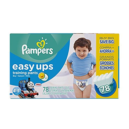 Pampers Easy Up 4T-5T (sz 6)), 78 ct (Old Version) by Pampers