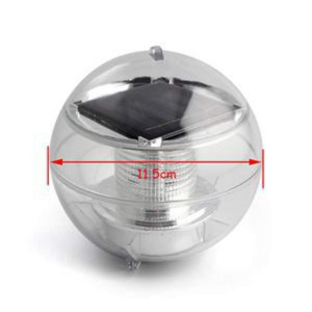 HUANGYABO Outdoor Lighting Floating Ball Color Changing Solar Floating Light Waterproof Of Pool Water Fountain Pond Led Landscape Light by HUANGYABO